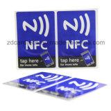 RFID versieht Aufkleberkennsatz des LF-HF UHFkundenspezifischen Drucken-RFID NFC mit Warnschild