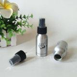 frasco 50ml cosmético de alumínio de prata com impressão do Silkscreen (PPC-AB-0105)