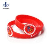 Prix bon marché Custom Bracelet Bracelet en silicone