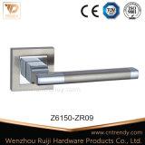 Maniglia in lega di zinco della serratura di mortasare del portello della leva su Rosa quadrata (Z6149-ZR09)