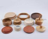 Изготовленный на заказ различная деревянная крышка крышки кружки чашки