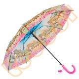 مستقيمة خطّاف مقبض شفّافة/[بو] جدي/أطفال مظلة