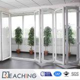 표준 크기 UPVC 유리 폴딩/이중 문/Bifolding 문