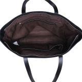 Sacchetto di Tote casuale d'acquisto delle donne della spalla della borsa della tela di canapa di corsa
