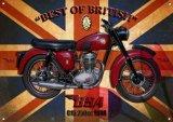 De Britse Klassieke Tekens van het Tin van het Metaal van Auto's