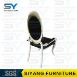 Silla de cena de acero de la silla del banquete de la silla de los apoyabrazos de China de los muebles del hotel