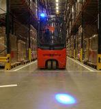 青い点のフォークリフト及び歩行者警告ライト9 80V LED車ライト