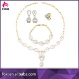 2018 nouveaux designs de zircone bijoux Set pour les femmes partie