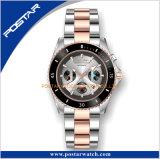 贅沢なステンレス鋼の自動腕時計の陶磁器の斜面のダイビングの腕時計の人