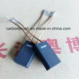 Escova de carbono da grafita da alta qualidade CH33N para o gerador da máquina do cimento