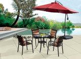 옥외/정원/안뜰 등나무 또는 알루미늄 테이블 HS6076dt