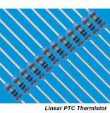 Lptc 냉장고를 위한 선형 세라믹 PTC 서미스터 Hw68 시리즈
