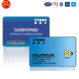 Póngase en contacto con tarjeta IC inteligente con chip (sin tarjeta en blanco de muestra)