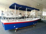 Liya V Casco Barcos de fibra de vidro do passageiro 580 barcos de passeio