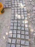 Chinees Grijs/Zwart/Donker Grijs/Wit Gevlamd Graniet G654/G682/G603/G602/G664/G687/Struik Hamered/Natuurlijke Gespleten Kubussen/Randen/Straatstenen