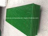 Grelha de plástico reforçado com fibra de vidro usados para ambientes corrosivos