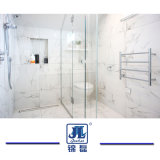Alta Carrara naturale Polished cinese poco costosa giada bianca/bianca di Guangxi/bianco statuario/marmo per i punti della lastra delle mattonelle di pavimento che costruiscono i controsoffitti della parete del controsoffitto