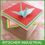 手細工のためのオフセットペーパーボール紙の板紙表紙のカードを着色しなさい