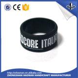 Bracelet de vente chaud de silicones de qualité de variété pour l'activité de promotion