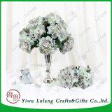 bloem van het Decor van de Stam van de Zijde van 46cm de Enige van de Kunstmatige Valse Bloem van de Hydrangea hortensia