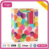 Polka PUNKT Muster-Form-Geschenk-Papierbeutel färben