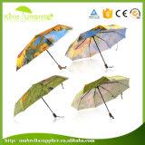 자동적인 승진 선물 우산이 고품질에 의하여 3 접힌다