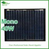 Mono cella di silicone solare superiore del comitato 40W