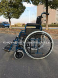 Desbloquear rápido, sillón de ruedas del acero inoxidable