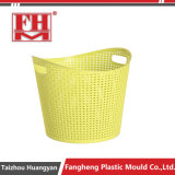 プラスチック注入の衣服のLaudryの記憶のバスケットの木枠袋型