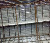 Construcciones de hormigón encofrado estriada de materiales de alta