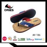 Estilo popular hombre Flip Flop zapatillas con alta calidad