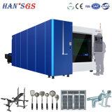 автомат для резки лазера волокна нержавеющей стали стали углерода CNC 500W