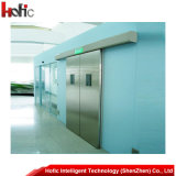 Automatic Interior Aluminum Alloy Sliding Door with Foam Polyurethane