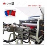 기계 또는 플라스틱 PVC 도와 압출기를 형성하는 윤이 난 기와 지붕 롤