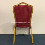 Hotel-Gaststätte-stapelbarer Metallbankett-Stuhl