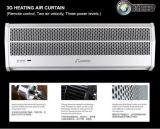 Porta superior compacta de fábrica Cortinas de ar com PTC