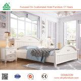 Moderne China Foshan Malaysia MDF-hölzerne Schlafzimmer-Möbel-gesetztes hölzernes Furnierholz-Kasten-Bett