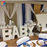 Tabella locativa di cerimonia nuziale del bambino della Tabella popolare della lettera da vendere