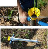 Transplanter vegetal à mão do Seedling do aço inoxidável