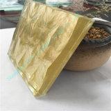 Campeón de la tela de color oro vidrio laminado