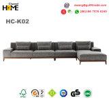 Design atraente sala de estar moderna sofá de tecido (HC-K02B)