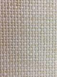 Blanc outre de papier peint texturisé normal de pièce de livre de Wallcovering de tissu d'herbe pour la décoration à la maison