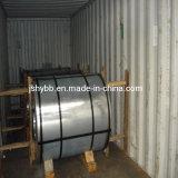 Bobine en acier galvanisée, tôle d'acier galvanisée plongée chaude, zingage, acier de Gi