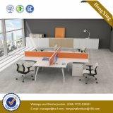 OEMのオフィス用家具4人ワークステーションオフィスのキュービクル(HX-NJ5101)