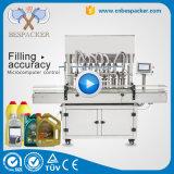 Máquina de rellenar del petróleo verde oliva del atasco de la alta precisión