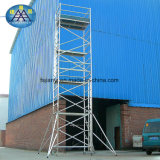 建物のための優秀な品質の足場アルミニウム移動式タワー