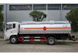 4000L de op zwaar werk berekende Stookolie van het Vervoer van de Capaciteit 3300kg Tankt de Tanker van de Brandstof van Tankerpetrol van de Brandstof van de Benzine van de Vrachtwagen van de Tanker bij
