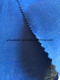 Lino puro, tela de lino tejida tela de lino de la alineada de la tela,