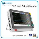 Monitor de Paciente Multi-Parameter médica Monitor de signos vitales con ECG+PNI+SpO2
