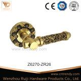 Nouvelle poignée de porte en laiton antique de l'intérieur poignées décoratifs (Z6336-ZR13)